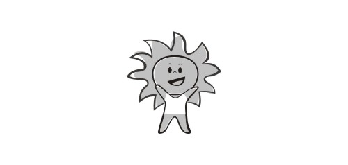 儿童太阳花棉鞋的针法图解
